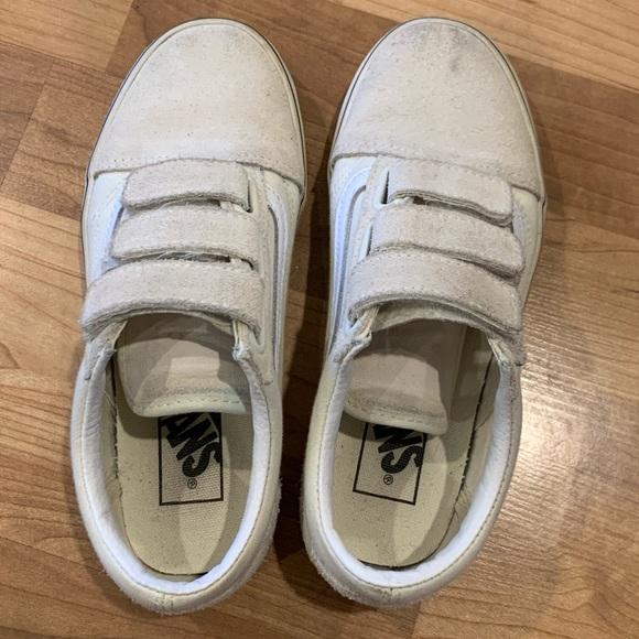 Vans Shoes   Velcro Offwhite Color